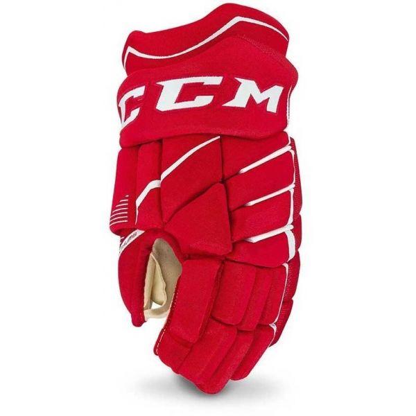 CCM JETSPEED 370 SR červená 14 - Hokejové rukavice