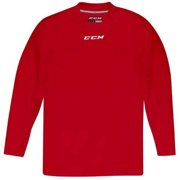 CCM 5000 PRACTICE SR czerwony M - Koszulka hokejowa