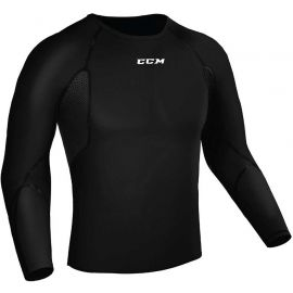 CCM COMPRESSION L/S JR - Tricou funcțional copii