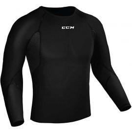 CCM COMPRESSION L/S SR - Pánske funkčné tričko