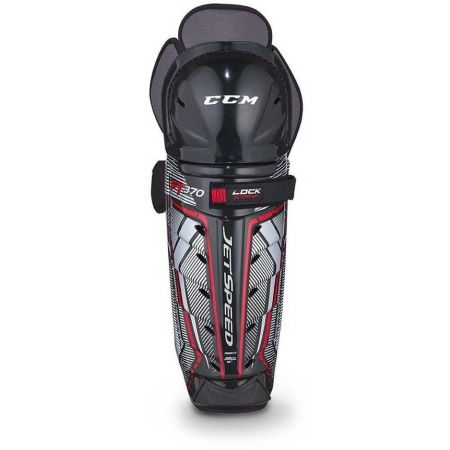CCM JETSPEED 370 SHIN GUARDS JR - Dětské holenní hokejové chrániče