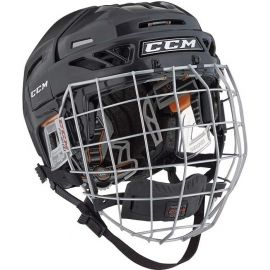 CCM FITLITE 3DS COMBO JR - Kids' hockey helmet