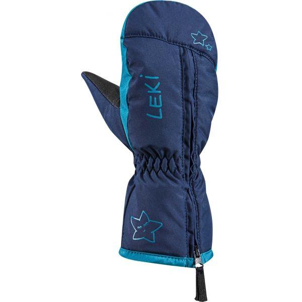 Leki LITTLE SNOW MITT modrá 3 - Dětské zimní rukavice
