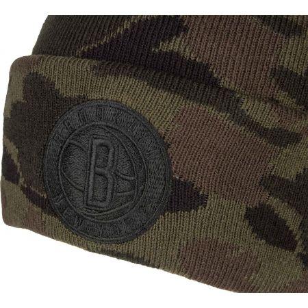 Men's winter hat - New Era NBA CUFF BROOKLYN NETS - 2