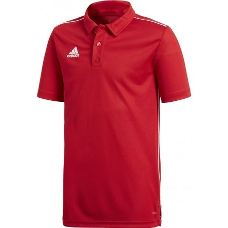 adidas CORE18 POLO Y - Boys' polo shirt