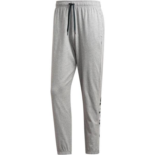 adidas E LIN T PNT SJ szary S - Spodnie męskie