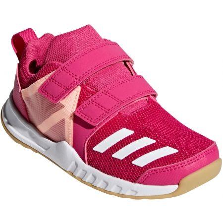 adidas FORTAGYM CF K - Dětská sportovní obuv