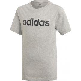 adidas YB E LIN TEE - Tricou de băieţi