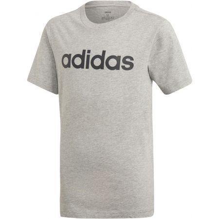 Chlapčenské tričko - adidas YB E LIN TEE - 1