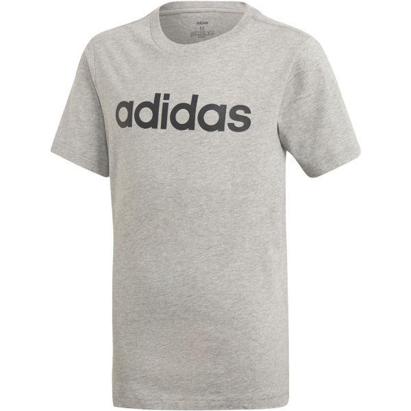 adidas YB E LIN TEE - Chlapčenské tričko