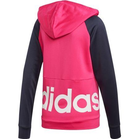 Dres damski - adidas WTS LIN FT HOOD - 3