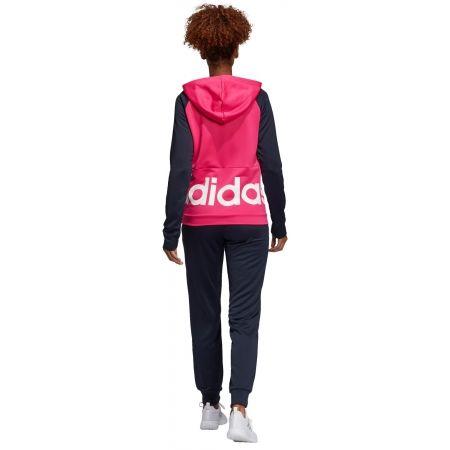 Dres damski - adidas WTS LIN FT HOOD - 10