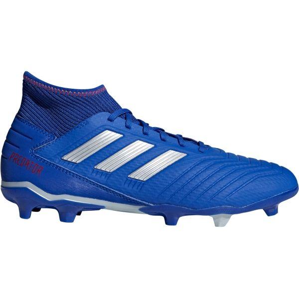 adidas PREDATOR 19.3 FG modrá 12 - Pánske kopačky