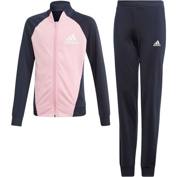 adidas YG PES TS ružová 164 - Dievčenské športová súprava
