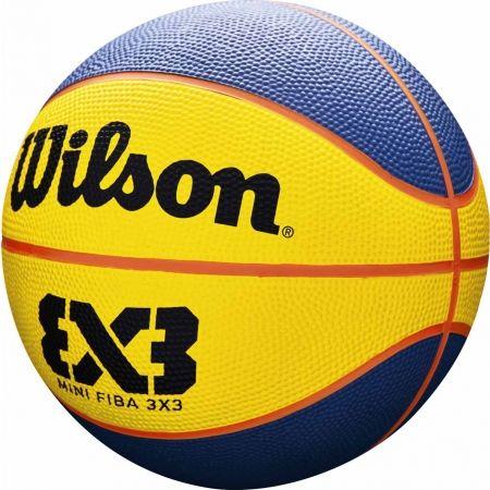 Minge mini de baschet - Wilson FIBA 3X3 MINI RUBBER BSKT