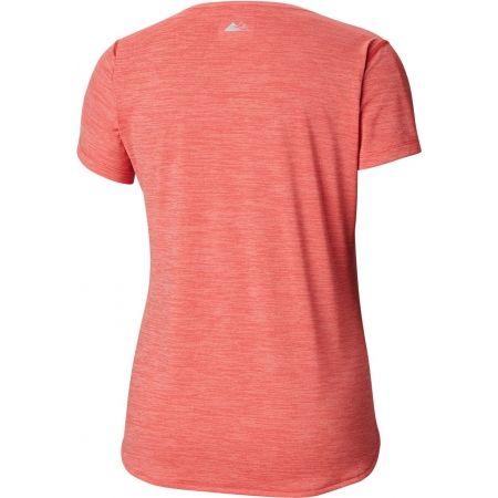 Dámské sportovní tričko - Columbia TRINITY TRAIL 2.0 GRAPHIC SHORT SLEEVE - 2