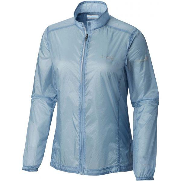 Columbia F.K.T. WIND JACKET W modrá L - Dámská outdoorová bunda