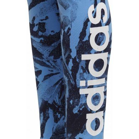 Dievčenské športové legíny - adidas YG E AOP TIGHT - 5