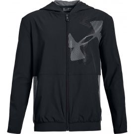 Under Armour WOVEN WARM UP JACKET - Dětská mikina