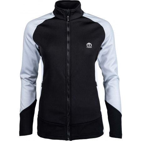 Hanorac damă - Mico HALF NECK FULL ZIP SHIRT - 1