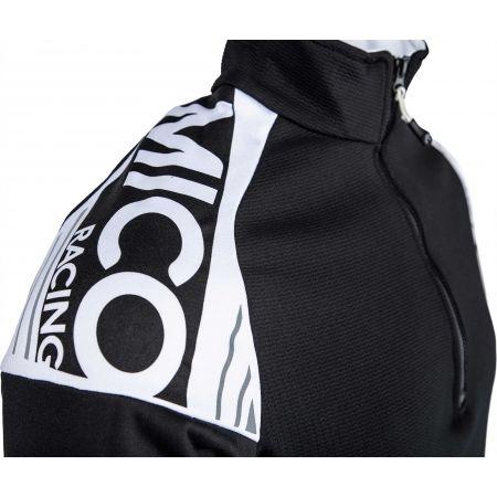 Мъжка блуза - Mico HALF NECK ZIP SHIRT - 4
