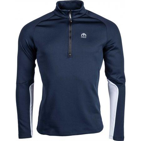 Мъжка функционална блуза - Mico HALF NECK ZIP SHIRT - 1