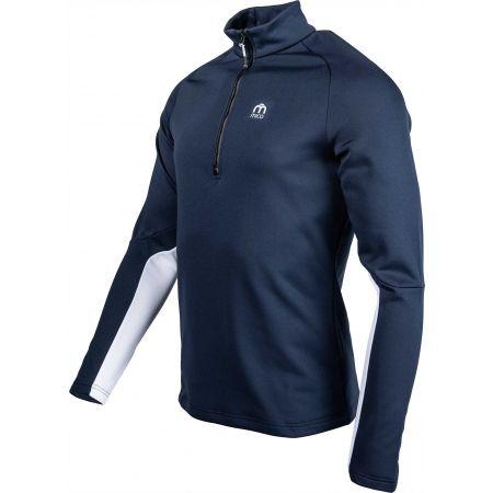 Мъжка функционална блуза - Mico HALF NECK ZIP SHIRT - 3