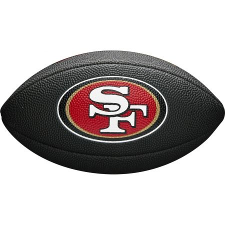 Wilson MINI NFL TEAM SOFT TOUCH FB BL SF