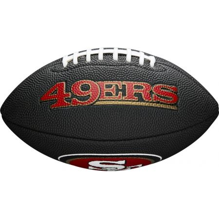American Football - Wilson MINI NFL TEAM SOFT TOUCH FB BL SF - 2