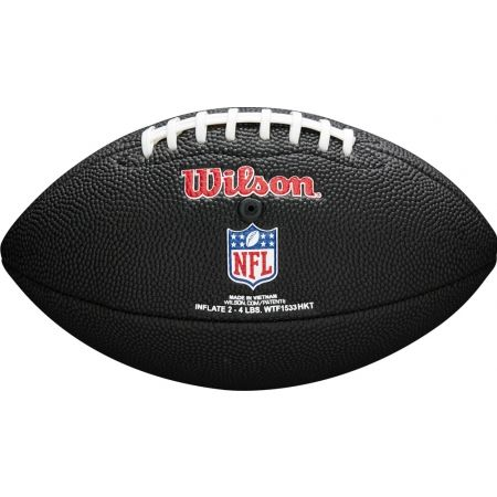Mini míč na americký fotbal - Wilson MINI NFL TEAM SOFT TOUCH FB BL JX - 3