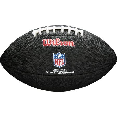 Топка за американски футбол - Wilson MINI NFL TEAM SOFT TOUCH FB BL PT - 2