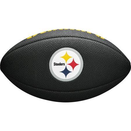 Топка за американски футбол - Wilson MINI NFL TEAM SOFT TOUCH FB BL PT - 3