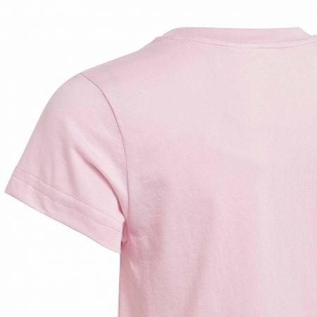Dievčenské tričko - adidas YG E LIN TEE - 4