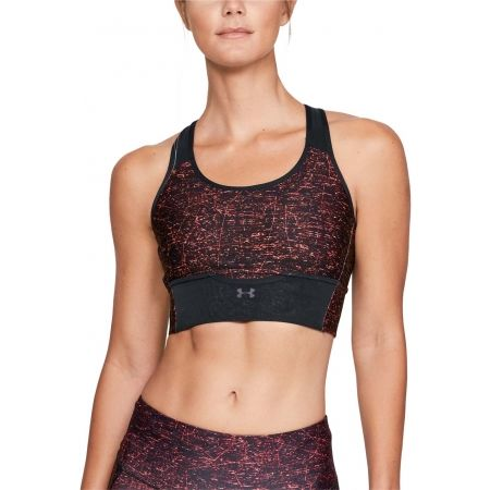 Dámská kompresní podprsenka - Under Armour ARMOUR MID CROSSBACK CLUTCH PRINTED BRA - 3