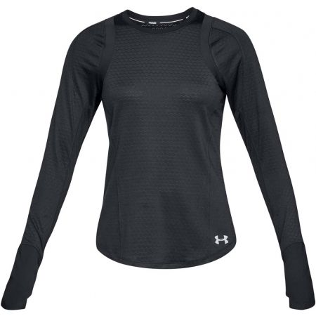 Dámské triko - Under Armour HEXDELTA LONG SLEEVE - 1