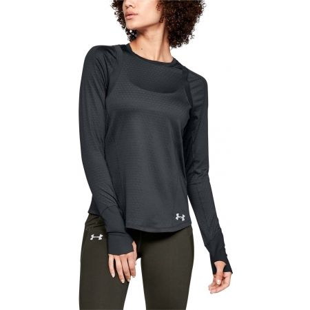Dámské triko - Under Armour HEXDELTA LONG SLEEVE - 4