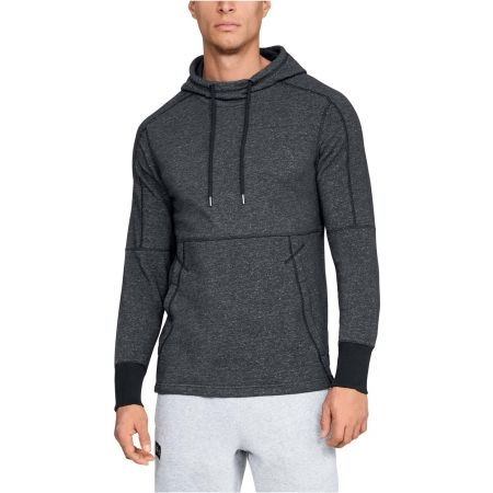 Pánská mikina - Under Armour SPECKLE TERRY HOODY - 4