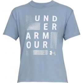 Under Armour GRAPHIC SQUARE LOGO GIRLFRIEND CREW - Dámské triko
