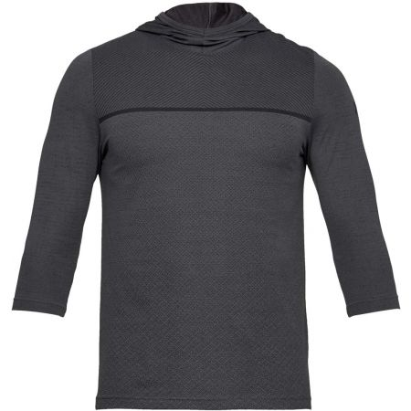 Under Armour SIPHON 3/4 SLEEVE HOODIE - Men's T-shirt