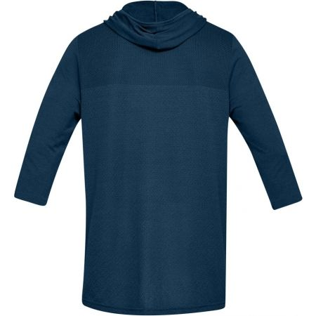 Pánske tričko - Under Armour SIPHON 3/4 SLEEVE HOODIE - 2