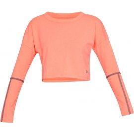 Under Armour LIGHTER LONGER CROPPED CREW - Koszulka damska