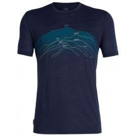 Icebreaker SPECTOR SS CREWE - Pánske tričko na voľný čas