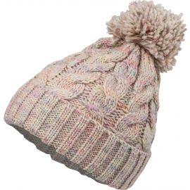 Willard BAMBU - Dámska pletená čiapka s brmbolcom