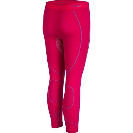 Dámské funkční spodní kalhoty - Mico 3/4 TIGHT PANTS WARM SKIN - 3