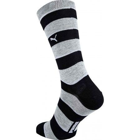 Unisex ponožky - Puma PROMO 2 PACK - 3