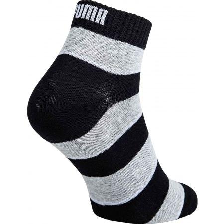Unisex ponožky - Puma QUARTER PROMO 2PACK - 3