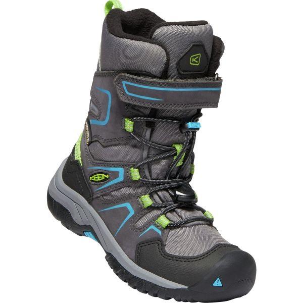 Keen LEVO WINTER WP - Detská zimná vysoká obuv