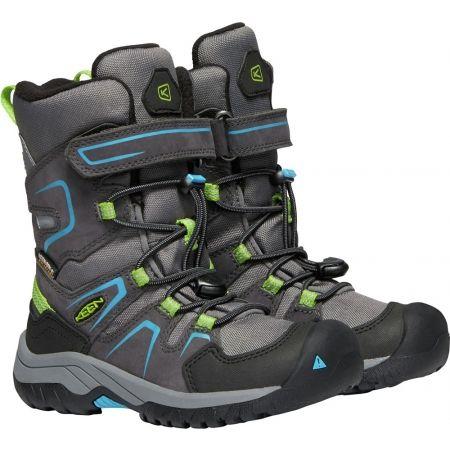 Dětská zimní vysoká obuv - Keen LEVO WINTER WP - 5