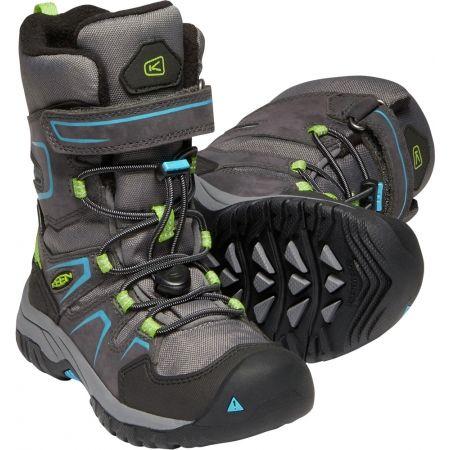 Dětská zimní vysoká obuv - Keen LEVO WINTER WP - 6