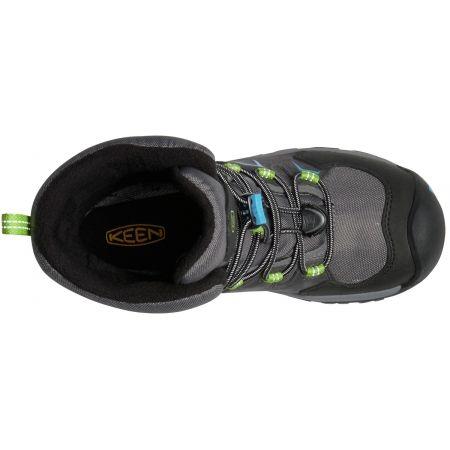 Juniorská zimná vysoká obuv - Keen LEVO WINTER WP Y - 2